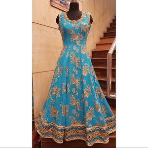 Dresses & Skirts - Blue Indian outfit Anarkali